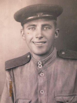 Рядовой Владимир Дзюбанин