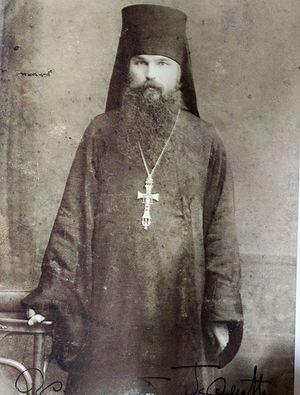 Архимандрит Герман (Ряшенцев) - ректор Вифанской семинарии. Фото из архива игумена Варнавы (Столбикова)