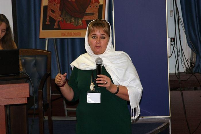 Заместитель председателя социального отдела Ливенской епархии Галина Ровенская