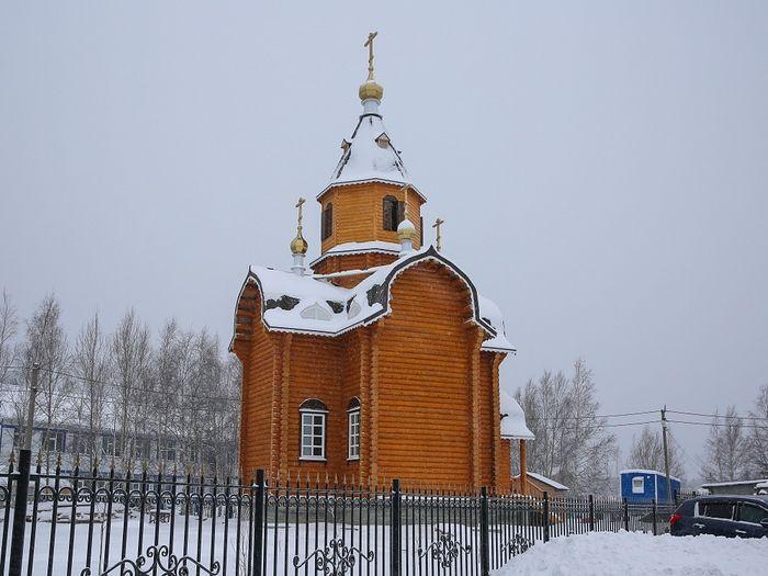 Храм в честь Святого Преподобного Евфимия Великого д. Шапша