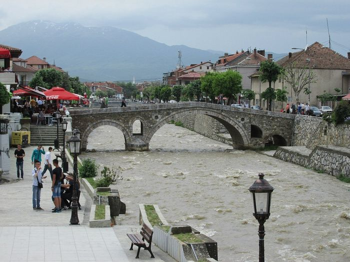 The river bank. Prizren.