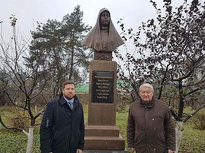 В Николо-Берлюковской пустыни открыли памятник святой Преподобномученице Елизавете Феодоровне