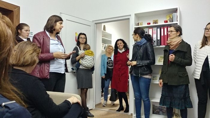 Alexandra Nadane (left) has played a central role in bringing life-saving help, post-abortive healing to women in Romania. Photo Courtesy: Heartbeat International