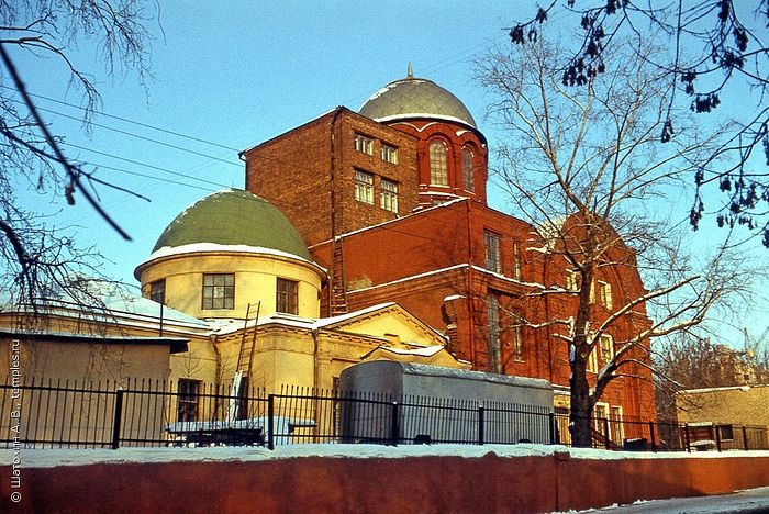 The Church of the Great Martyr George the Victorious in Moscow