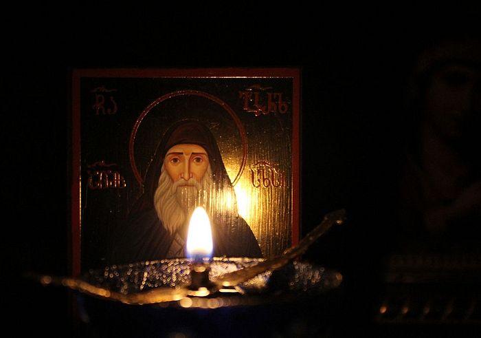 Икона преп. Гавриила (Ургебадзе)