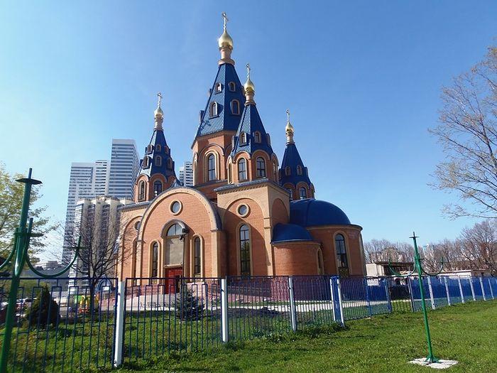 Храм Державной иконы Божьей матери в районе Чертаново Северное
