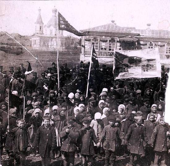 Первомай в Сосновке