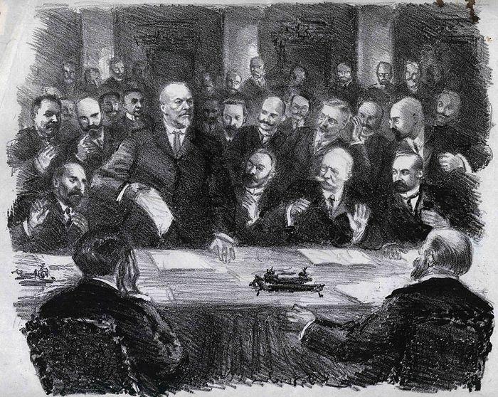 Заседание Временного комитета Государственной Думы 28 февраля 1917 года.