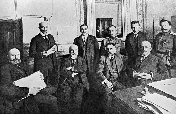 Временный комитет Государственной думы. Февраль 1917 года