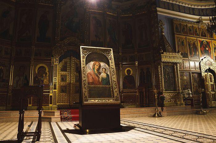 Чудотворная икона Коробейниковской Казанской Божией Матери
