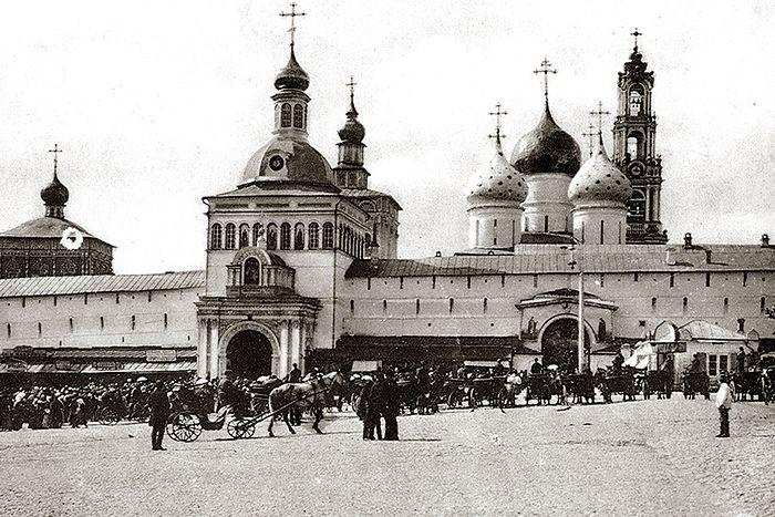 Троице-Сергиева Лавра перед революцией