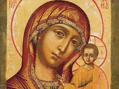 Всенощное бдение в Сретенском монастыре накануне дня празднования Казанской иконы Божией Матери