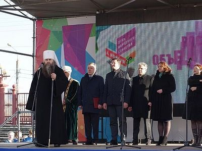 На Нижегородской ярмарке состоялось открытие мультимедийного парка «Россия — моя история»