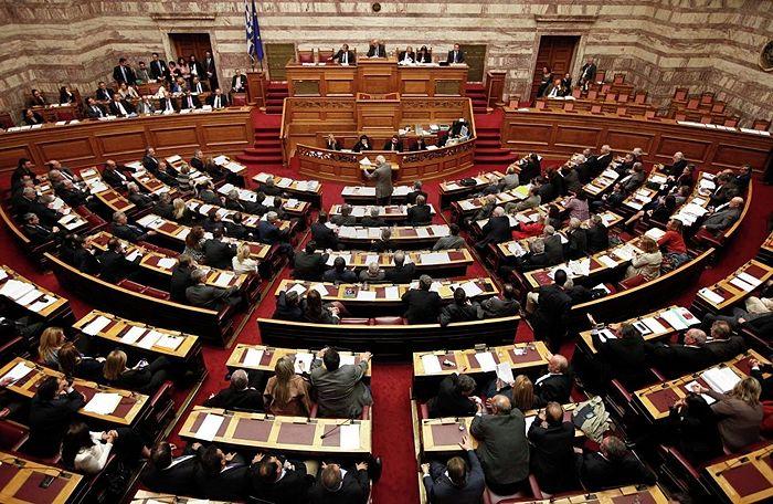 Фото: REUTERS / Alkis Konstantinidis Греческий парламент