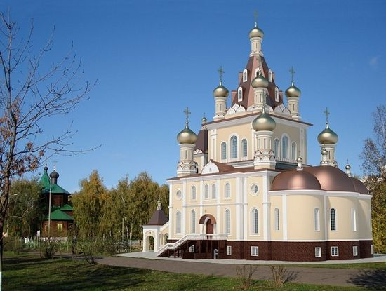 The Church of the Meeting of the Lord in Zhulebino. Photo: RIA-Novosti