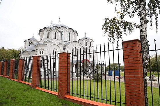 The Church of the Upbringing Icon of the Mother of God in the village of Nekrasovka. Photo: RIA-Novosti