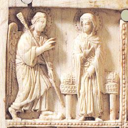 В Византии иконы резали из слоновой кости
