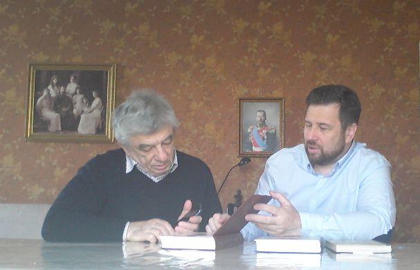 Андрей Мановцев и Петр Мультатули