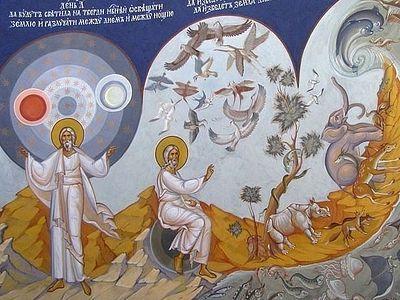 Почему именно сто третий псалом, в котором говорится о сотворении мира, помещен в начале вечерни?