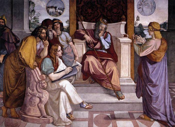 Иосиф толкует сон фараона