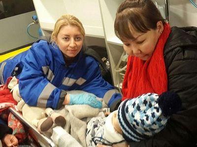 Девочку, выжившую при падении самолета, закрыла собой крестная