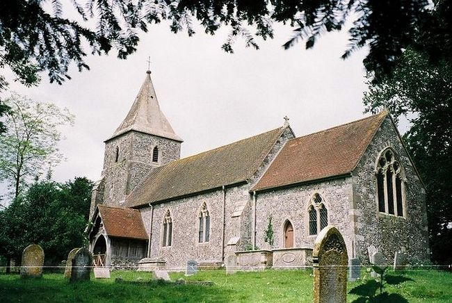 St. Rumwold's Church in Pentridge, Dorset
