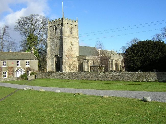 St. Rumwold's Church in Romaldkirk, county Durham