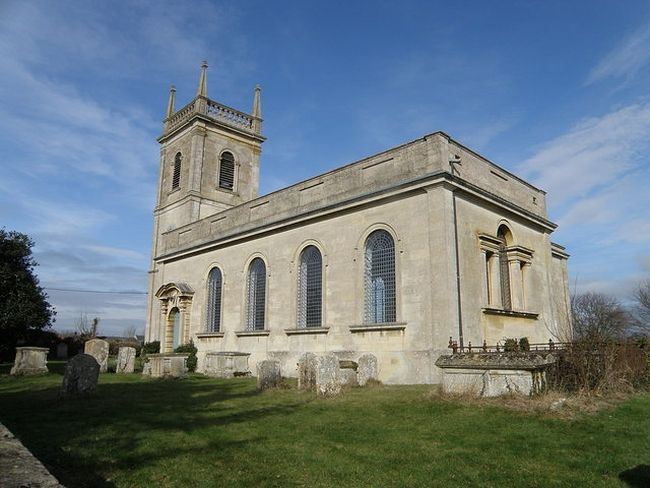 St. Rumwold's Church in Stoke Doyle, Northants