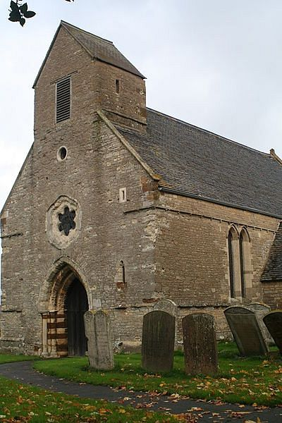 St. Rumwold's Church in Strixton, Northants