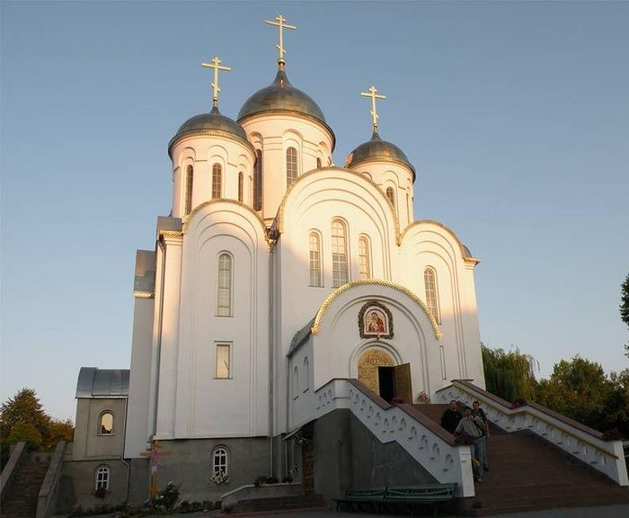 The Ternopil cathedral.
