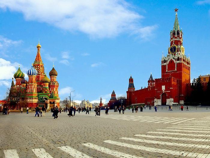 Красная площадь, Москва