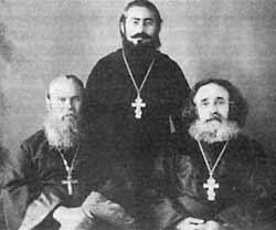 О. И. Певунов, о. В. Котляров, прот. Савва Котляров