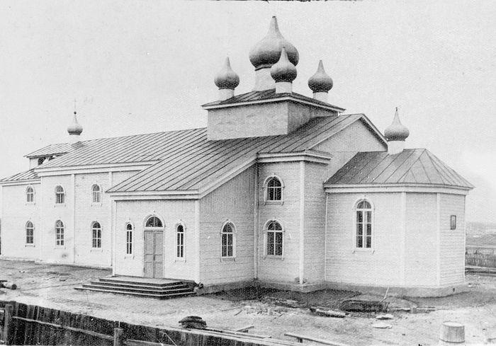 Храм Архангела Михаила в Караганде. Фото 50-х гг.
