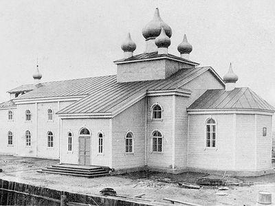 Шахтерский храм Архангела Михаила