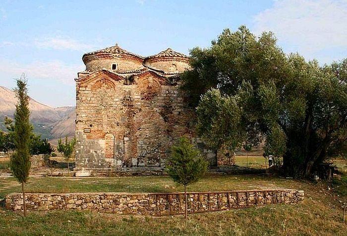 Монастырь свт. Николая в Месопотамо, Албания