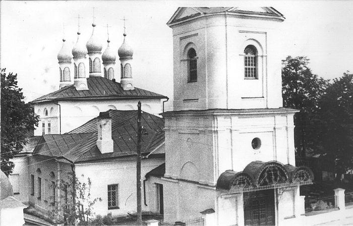 Свято-Покровский храм г. Покров, 60-е гг. Фото: fudel.ru