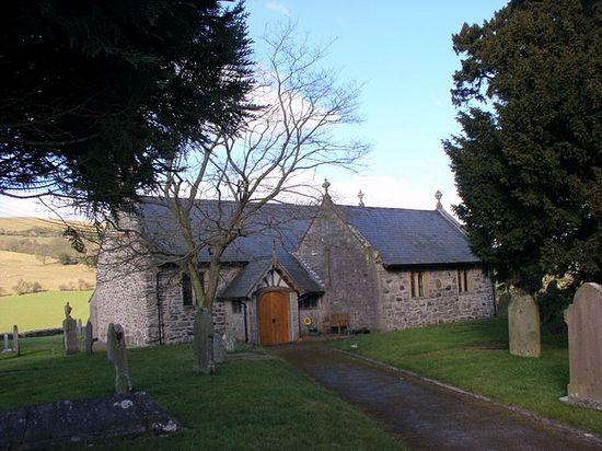 St. Tysilio's Church in Bryneglwys, Denbighshire