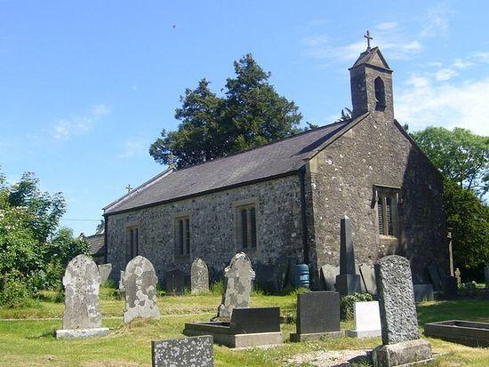 St. Tysilio's Church in Llandissilio, Pembrokeshire