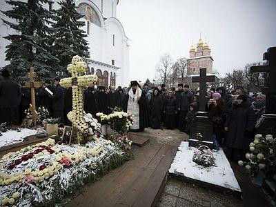 В 40-й день после кончины архимандрита Наума (Байбородина) в Троице-Сергиевой лавре почтили его память