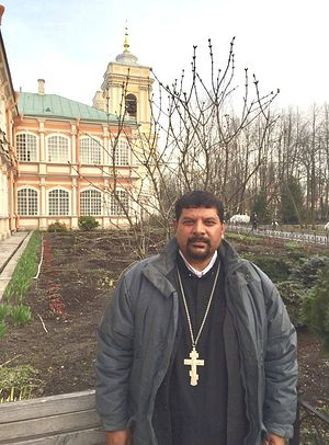 Father Joseph Farooq in Russia