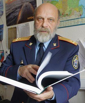 Криминалист Владимир Соловьев