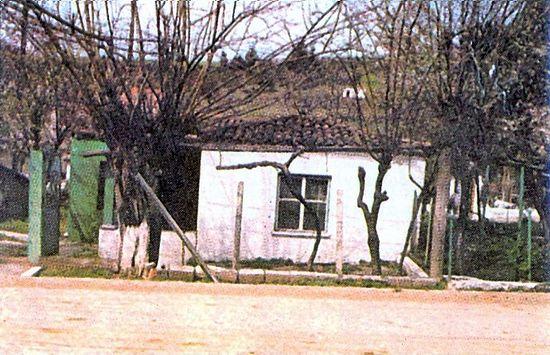 Домик отца Иакова в деревне Фаракла