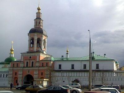 В Данилов монастырь будет принесен ковчег с частицами мощей мцц. Веры, Надежды, Любови и матери их Софии