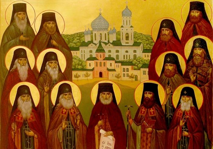 «Собор преподобных отцов Глинских»