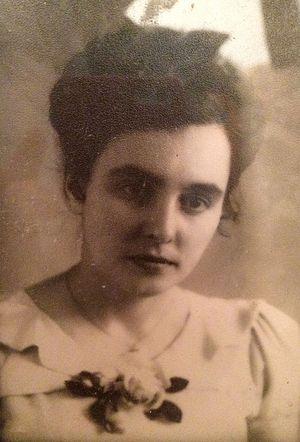 Муза Викторовна Лисовская в молодости