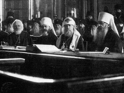 Поместный собор Православной Российской Церкви 1917-1918 гг., восстановление патриаршества