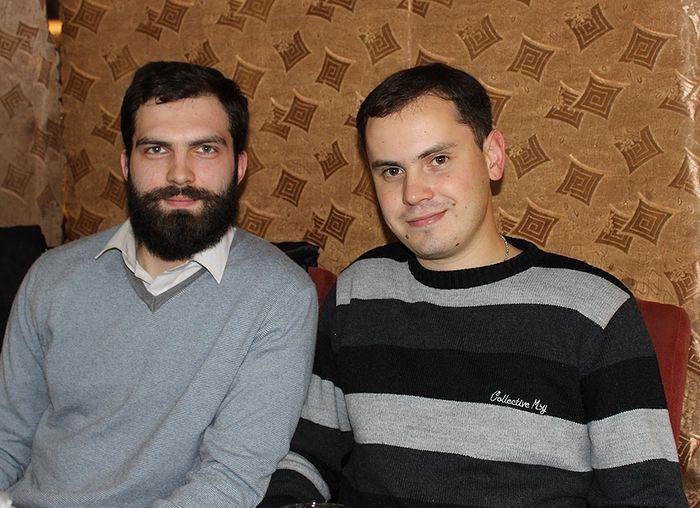 Максим Втюрин (слева) и Андрей Макущенко