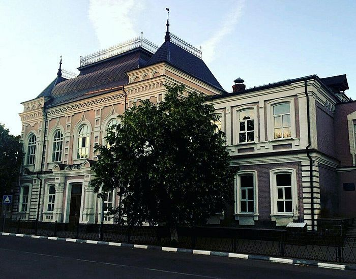 Olginskaya Gymnasium in the town of Pavlovsk.