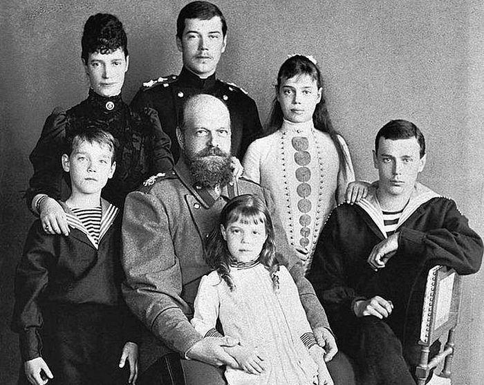 The family of Emperor Alexander III.