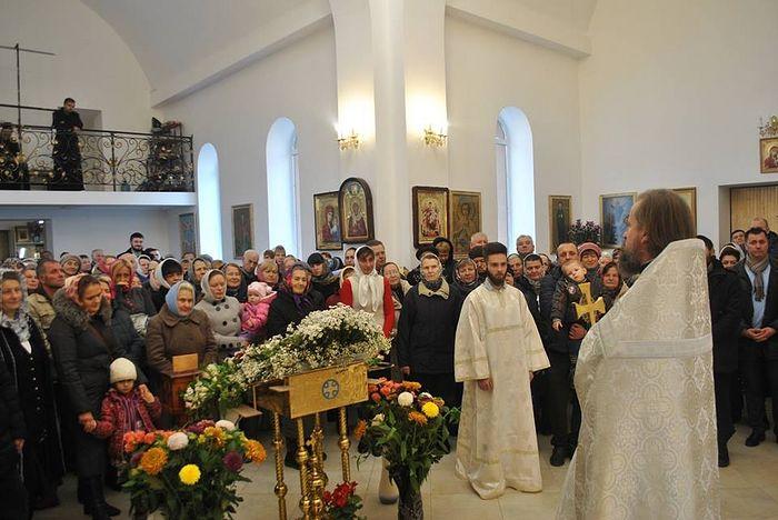 Проповедь после первой литургии в день Архистратига Михаила